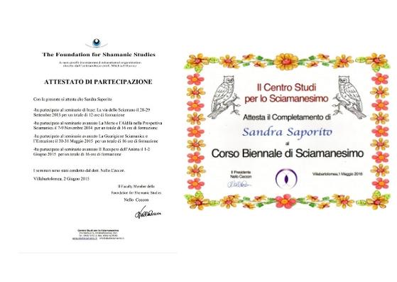 formazione sciamanica Sandra Saporito