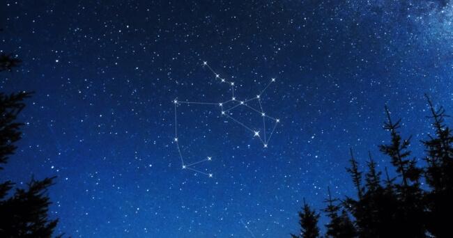 Le stelle nelal costellazione del Sagittario